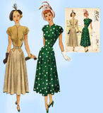 McCall Pattern 7204: Uncut Misses Afternoon Dress Sz 32 B Vintage Sewing Pattern - Vintage4me2