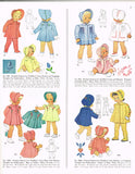 1940s Vintage McCall Sewing Pattern 964 Uncut Baby Girls Heirloom Coat & Bonnet Sz1