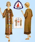 McCall's L-100: 1960s Campfire Girls Ceremonial Gown SM Vintage Sewing Pattern - Vintage4me2