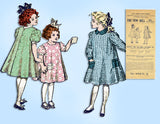 New Idea 4992: Antique Sewing Pattern Girls Sack Apron Classic Original From 1907 vintage4me2