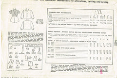 1940s Vintage Simplicity Sewing Pattern 1652 Toddler Boys Overalls & Shirt Sz 4
