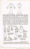 1950s Vintage Simplicity Sewing Pattern 1791 Uncut Misses Day Dress Size 12 32B
