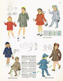 1940s Vintage Simplicity Sewing Pattern 2203 Uncut Toddler Girls Coat Size 2