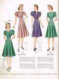 Research Result: 1942 Catalog with Simplicity Patterns 3280, 3215, 3142 and 3303