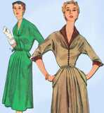 1950s Vintage Simplicity Sewing Pattern 4920 Uncut Misses Afternoon Dress Sz 14