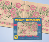 1950s Pretty Carnations Vogart Textilprints 440 Color Hot Iron Transfer Uncut -Vintage4me2