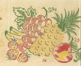 1950s Vintage Vogart Textilprint 26 Crisp Fruit Color No Sew Hot Iron Transfer -Vintage4me2