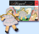 1940s Vintage Vogart Transfer Pattern 158 Uncut Nancy Doll and Clothes 15 Inch Original - Vintage4me2