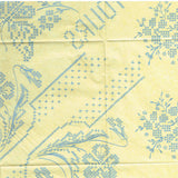 1950s Vintage Vogart Embroidery Transfer 666 Uncut Cross Stitch Floral Pillowcases - Vintage4me2