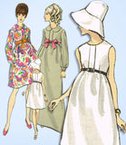 Vogue 7382: 1960s Uncut Misses Boho Dress Sz 31.5 Bust Vintage Sewing Pattern - Vintage4me2