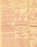 1940s Workbasket Embroidery Transfer #68 Alter Cloth Religious Motifs & More