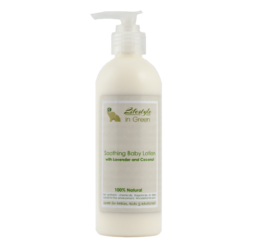 Soothing Organic Baby Lotion - sensitive skin or eczema
