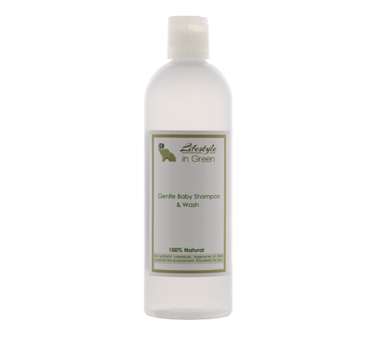Gentle Organic Baby Shampoo and Wash