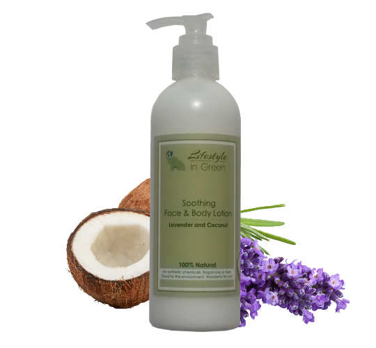 best organic lotion with lavender coconut
