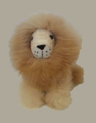 Alpaca Lion - Organic stuffed animal