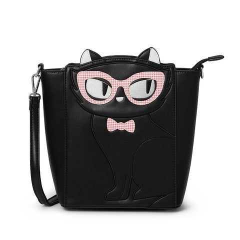 Erstwilder Elissa the Indie Cat Tote Bag
