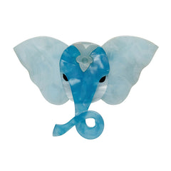 Erstwilder Balthazar the Elephant Resin Brooch