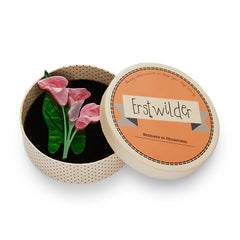 Erstwilder Pink Beauty Blooms Brooch