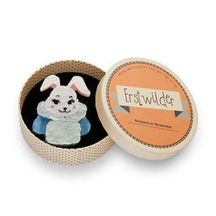 Erstwilder Christmas Snuggly Buffy Bunny Brooch