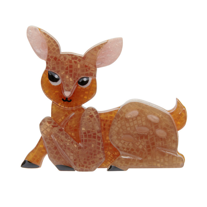 Erstwilder Christmas Doe-Eyed Deary Brooch