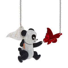 Erstwilder 'What a Catch!' Panda Necklace