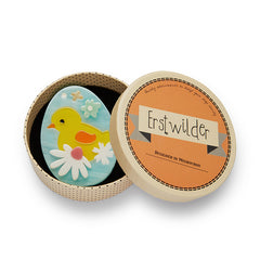 Erstwilder Easter Baby Bloomer Egg Brooch