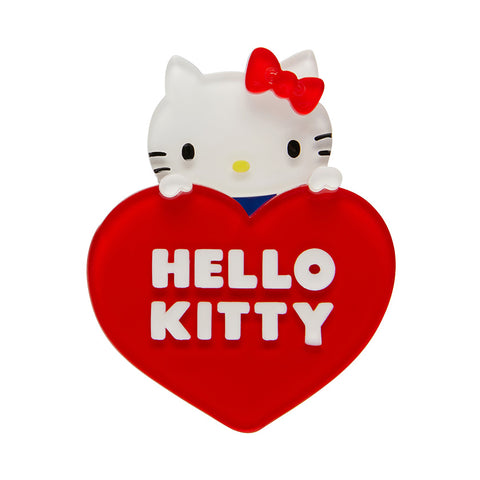 Erstwilder Hello Kitty Heart Brooch