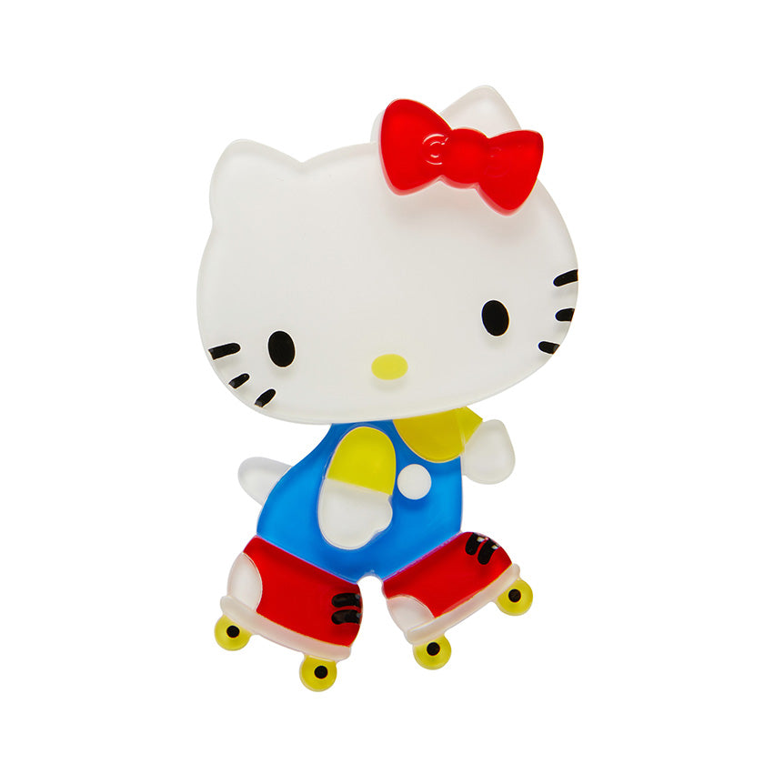 Erstwilder Hello Kitty Time for a Skate Brooch