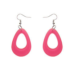 Erstwilder Essential Pink Tear Drop Earrings