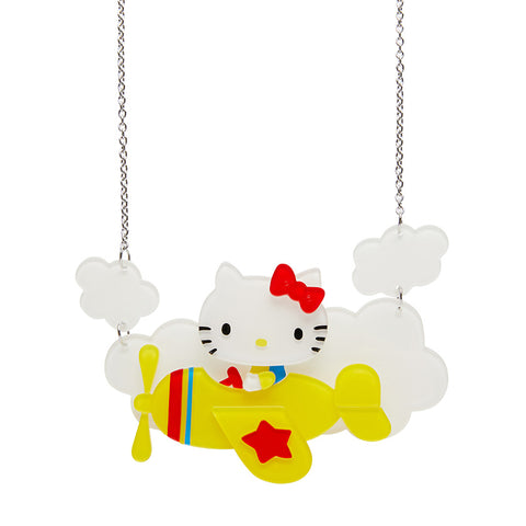 Erstwilder Hello Kitty Take to the Sky Necklace