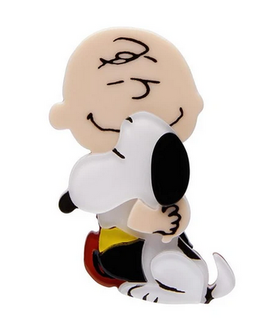 Erstwilder PEANUTS The Round Headed Kid Resin Brooch