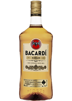 Bottle of Bacardi Gold from Checkers Discount Liquors and Wines in Miami, Florida
