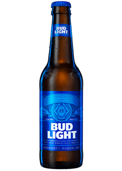Bottle of Bud Light from Checkers Discount Liquors and Wines in Miami, Florida