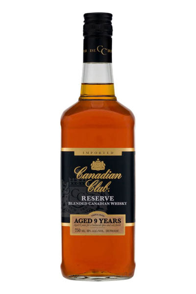 Canadian Club 9 Years Reserve