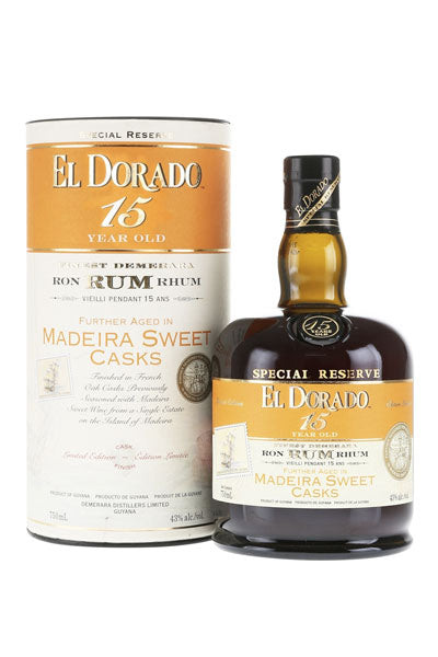 El Dorado 15 Years Madeira Sweet