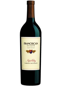 Bottle of Franciscan Cabernet (2016) from Checkers Discount Liquors and Wines in Miami, Florida