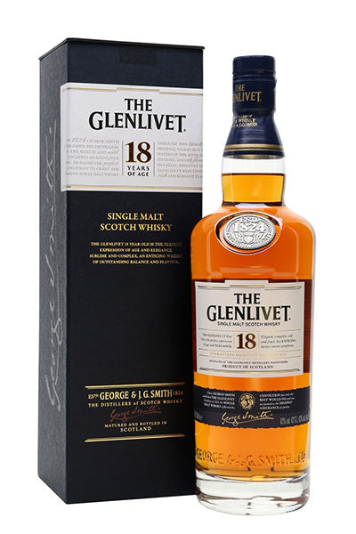 Glenlivet 18 Years Single Malt
