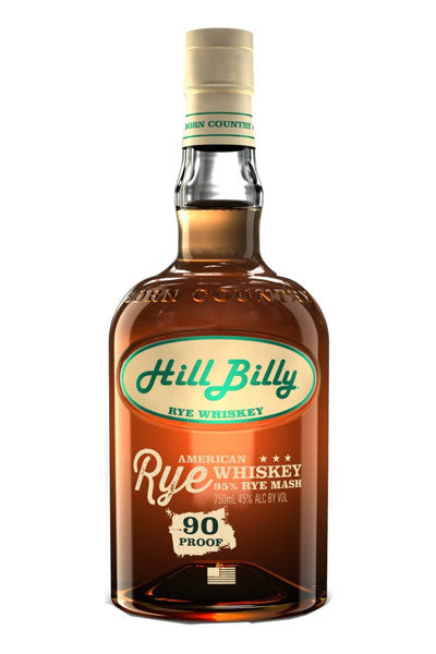 Hill Billy Rye whiskey