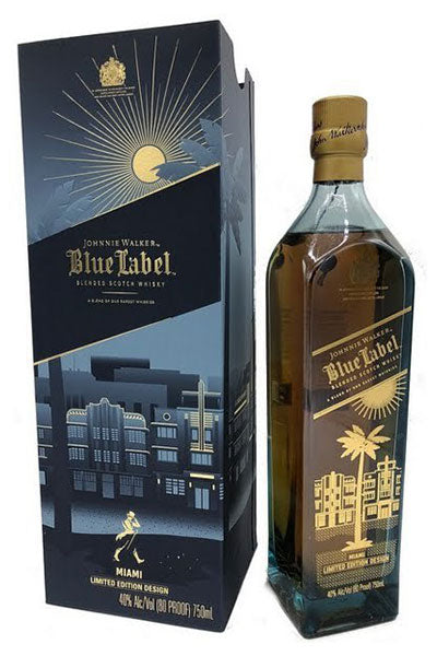 Johnnie Walker Blue Miami Edition