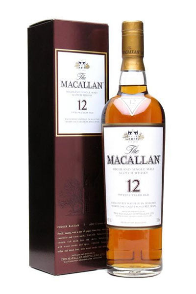 Macallan 12 Years Single Malt