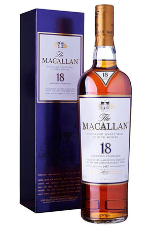 Macallan 18 Years Single Malt