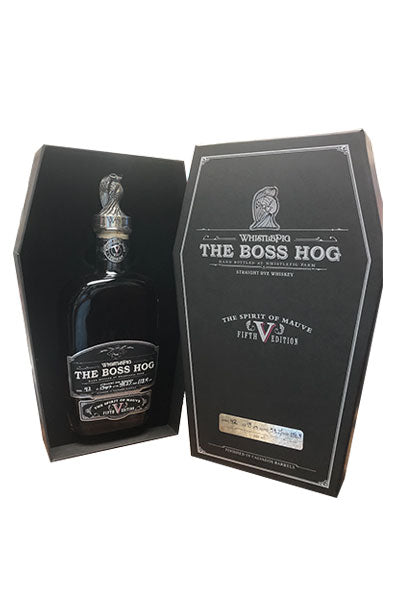 """The Boss Hog"" - Straight Rye Whiskey"