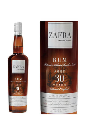 Zafra Rum Master Series 30 Years Old