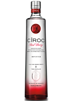 Bottle of Ciroc Red Berry Vodka from Checkers Discount Liquors and Wines in Miami, Florida