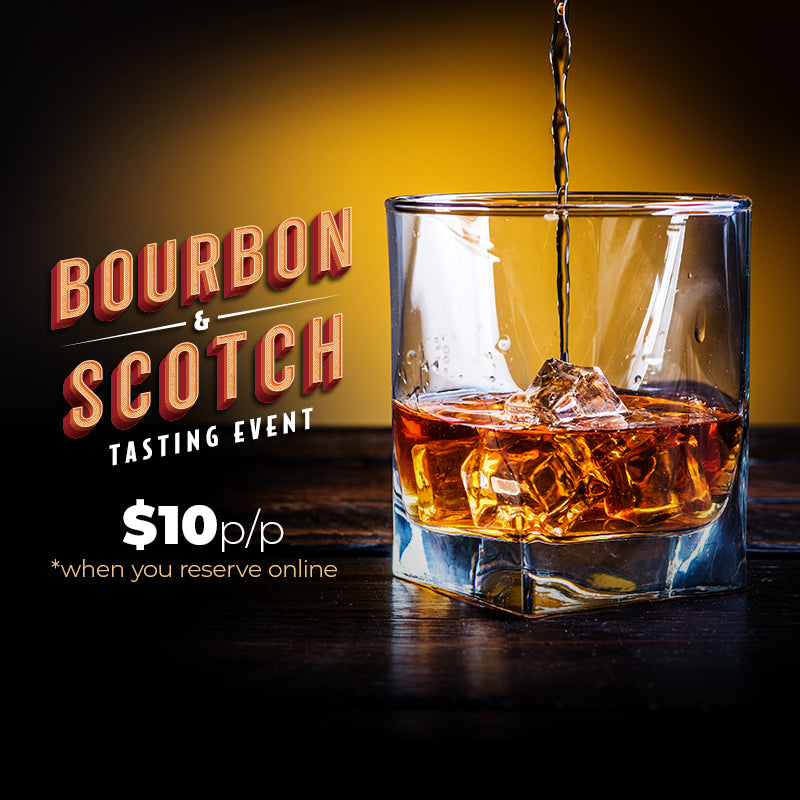 Bourbon & Scotch Tasting - Checkers Homestead