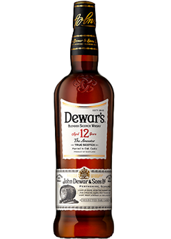 Bottle of Dewar's 12 Year from Checkers Discount Liquors and Wines in Miami, Florida