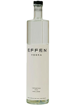 Bottle of Effen Vodka from Checkers Discount Liquors and Wines in Miami, Florida