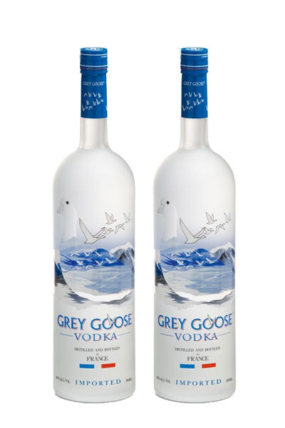 Grey Goose Vodka 750 ml x 2