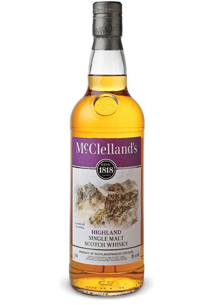 MCClelland's Highland Single Malt 750ml