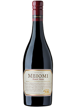 Bottle of Meiomi Pinot Noir (Monterey) (2016) from Checkers Discount Liquors and Wines in Miami, Florida